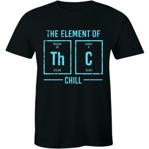 The Element Of Th C Chill Funny Periodic T-shirt